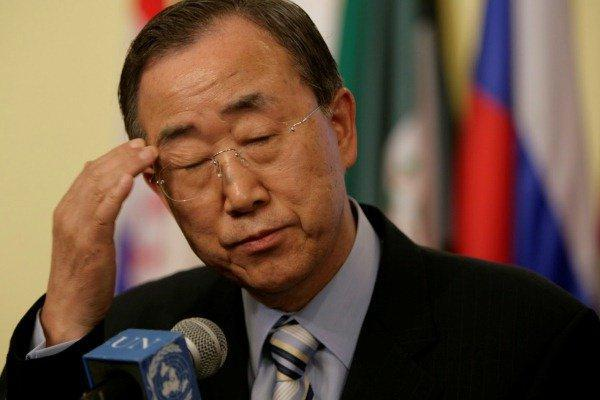 Letter to UN Secretary-General Concerning Saudi Arabia's Removal from List of Armies Charged with War Crimes